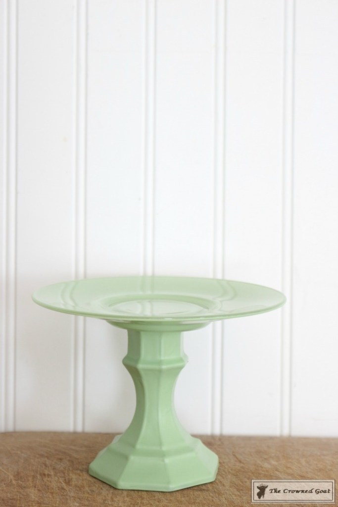 Faux-Jadeite-Cupcake-Stands-12-683x1024 Jadeite Inspired Cupcake Stands Crafts DIY