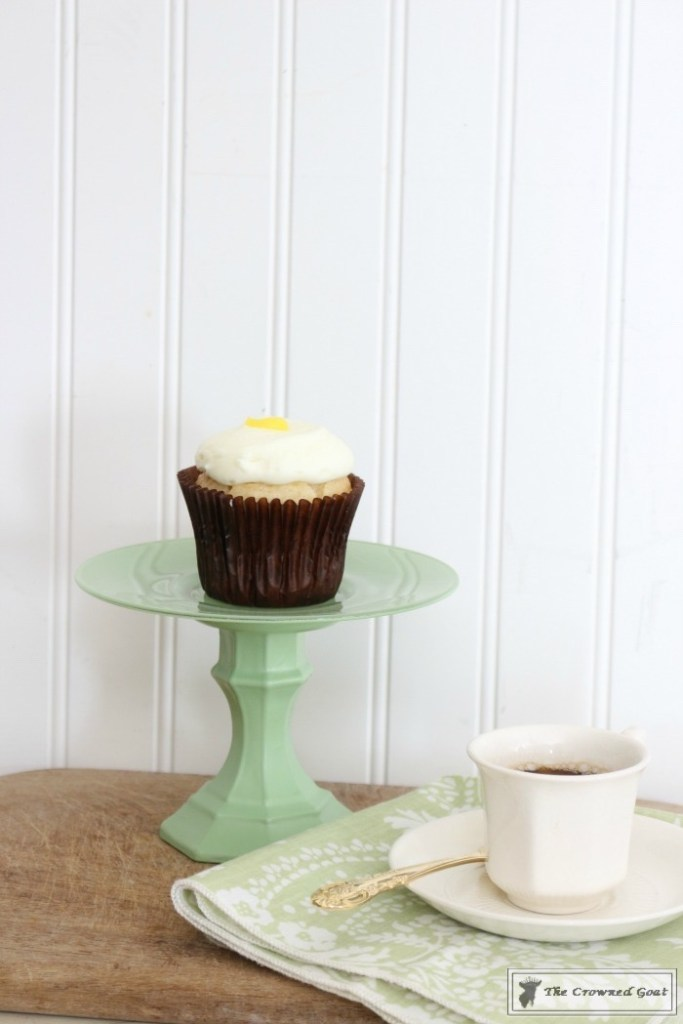 Faux Jadeite Cupcake Stands-13