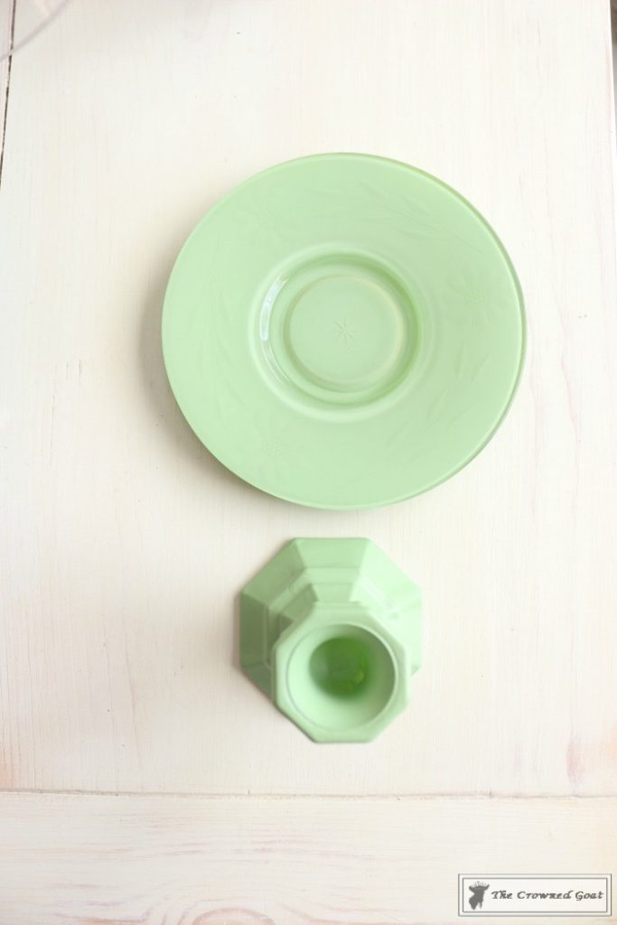 Faux-Jadeite-Cupcake-Stands-8-683x1024 Jadeite Inspired Cupcake Stands Crafts DIY