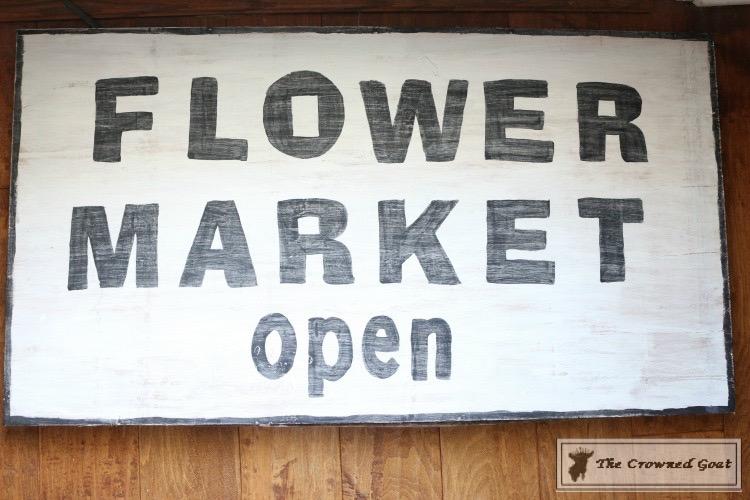 How-to-Make-a-Flower-Market-Sign-from-Scrap-Wood-14 DIY Flower Market Sign Decorating DIY Holidays Spring