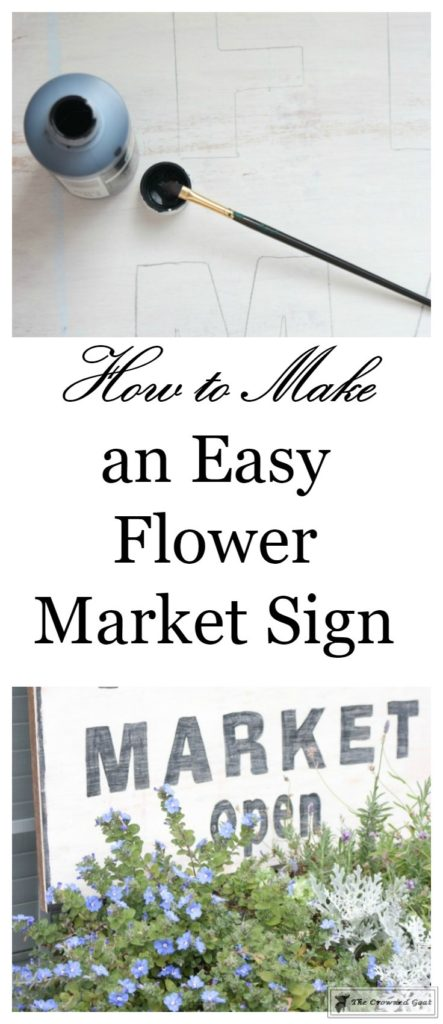 How-to-Make-a-Flower-Sign-From-Scrap-Wood-1-443x1024 DIY Flower Market Sign Decorating DIY Holidays Spring
