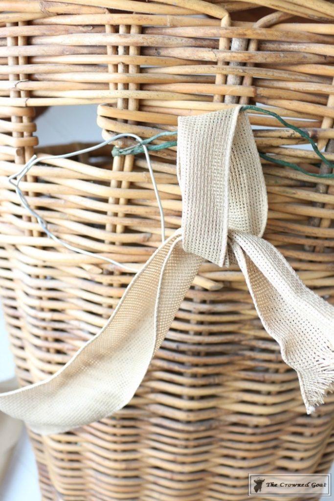 How-to-Make-a-Spring-Flower-Basket-6-683x1024 Spring Front Door Flower Basket DIY