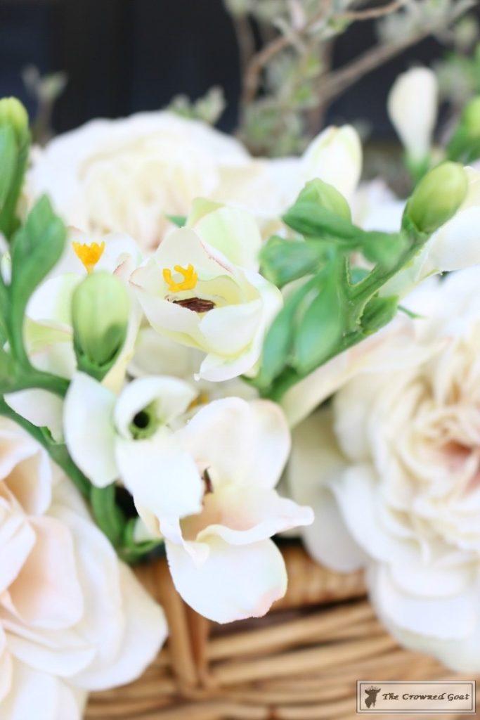 How-to-Make-a-Spring-Flower-Basket-9-683x1024 Spring Front Door Flower Basket DIY