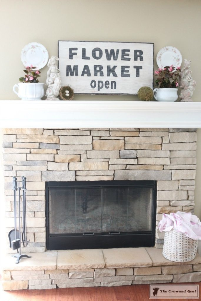 Simple-Spring-Mantel-Ideas-13-683x1024 Simple Spring Mantel Holidays Spring
