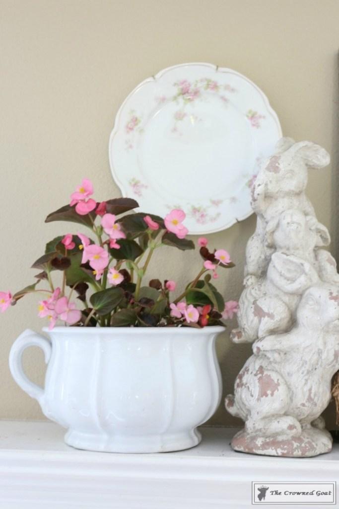 Simple-Spring-Mantel-Ideas-3-683x1024 Simple Spring Mantel Holidays Spring