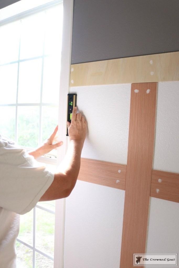 Budget-Friendly-Window-Trim-5-683x1024 A $30 Window Upgrade DIY One_Room_Challenge
