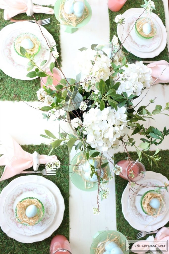 Colorful-Easter-Tablescape-2-683x1024 Colorful Easter Tablescape Decorating Holidays Spring