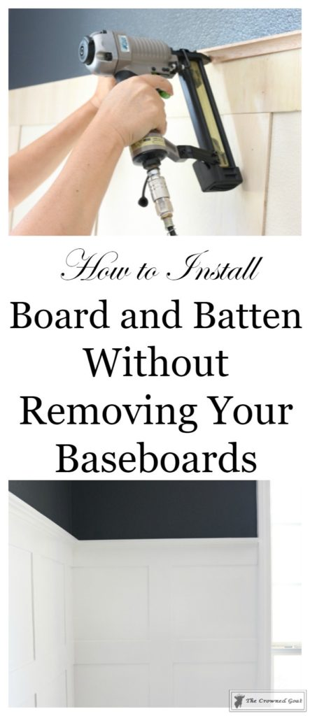 Installing-Board-and-Batten-3-443x1024 A Step by Step Guide to Board and Batten Installation DIY