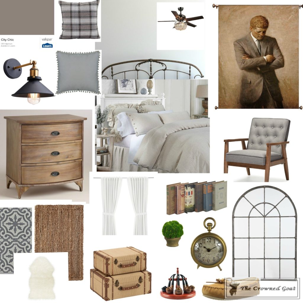 Spring-ORC-Bedroom-Makeover-The-Crowned-Goat-4-1024x1024 Spring ORC: Master Bedroom Makeover Decorating DIY
