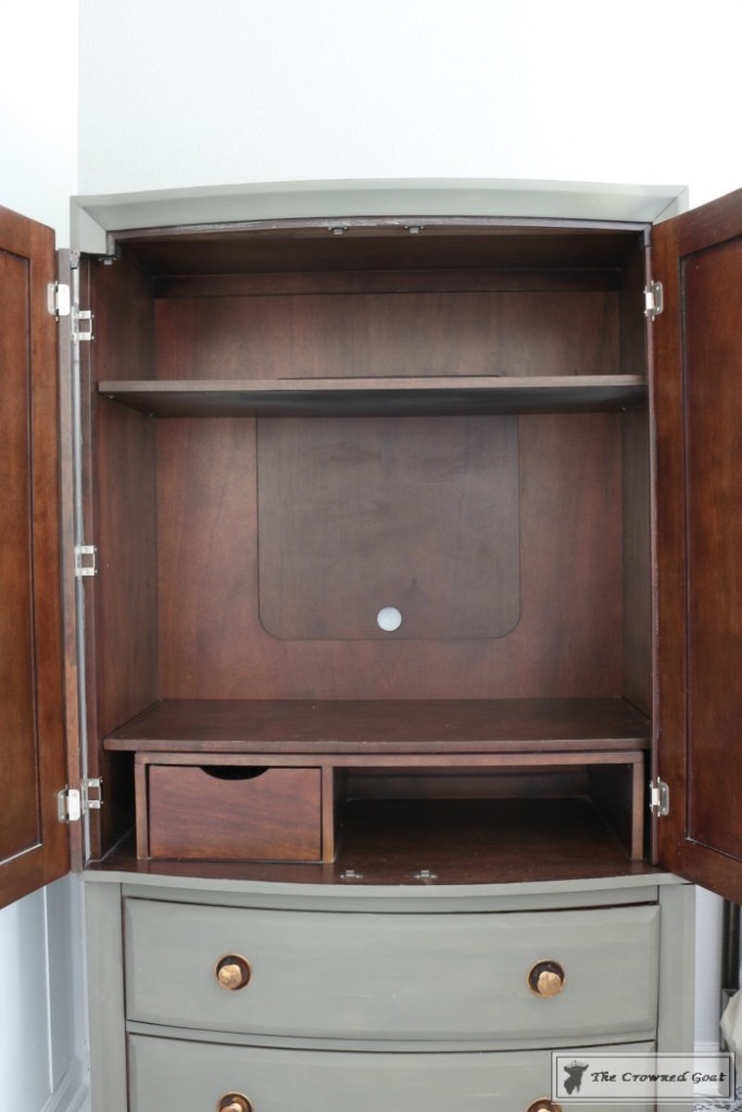 TV Armoire Makeover-8