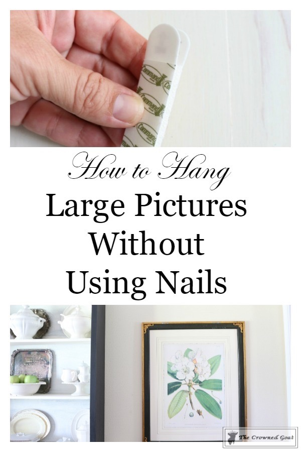 How To Hang Large Pictures Without Using Nails The