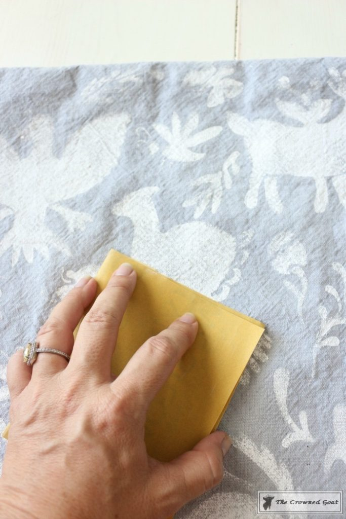 How-to-Stencil-a-Pillow-Cover-11-683x1024 Stenciled Pillows Made Easy Decorating DIY