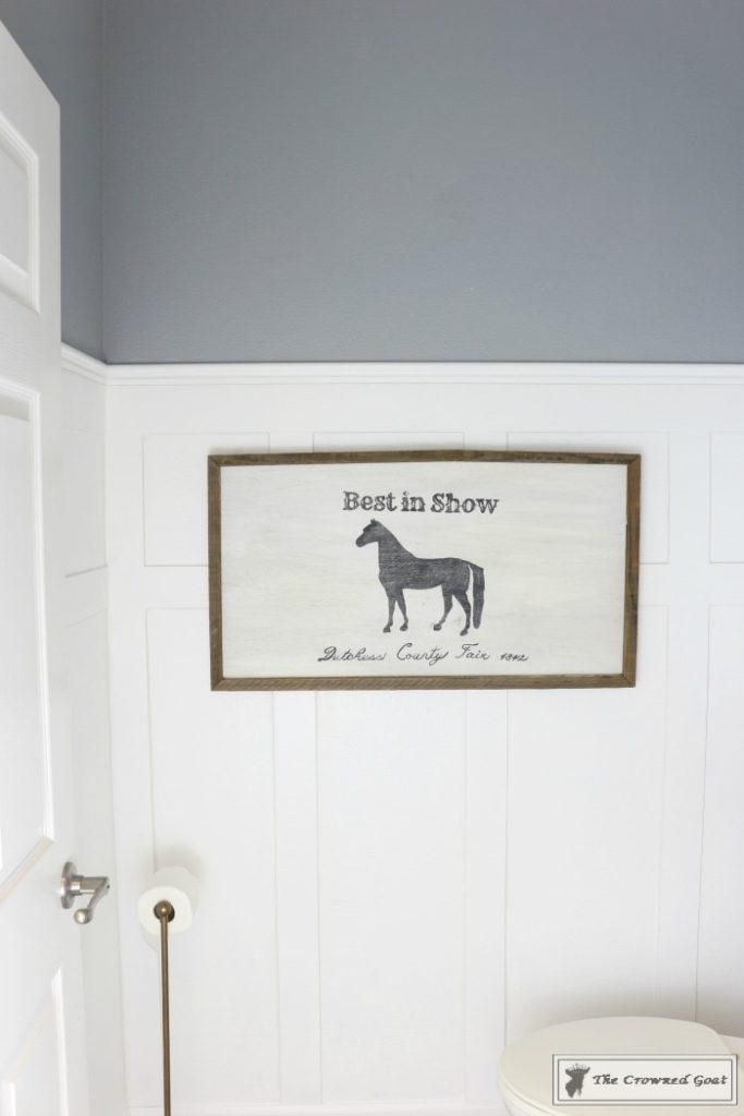 Adding-Board-and-Batten-to-the-Half-Bathroom-16-683x1024 Half-Bath Makeover Decorating DIY