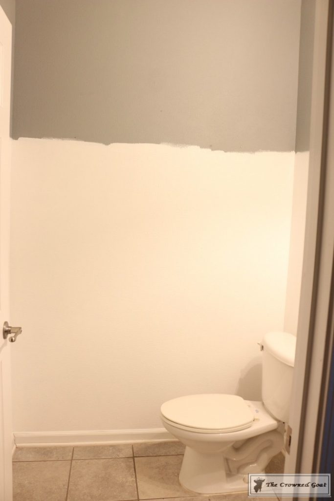 Adding-Board-and-Batten-to-the-Half-Bathroom-3-683x1024 Half-Bath Makeover Decorating DIY