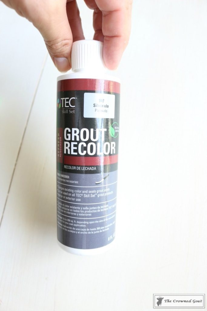 Easily-Change-the-Color-of-Existing-Grout-4-683x1024 How to Easily Change the Color of Existing Grout Decorating DIY