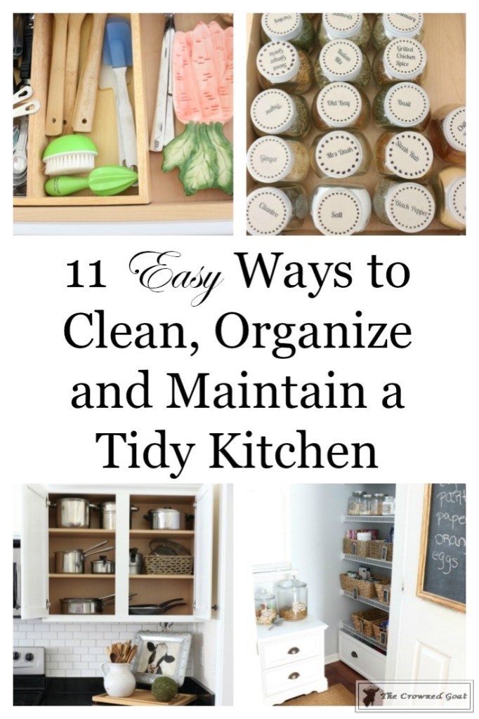 Easy Ways to Keep the Kitchen Clean and Organized-1