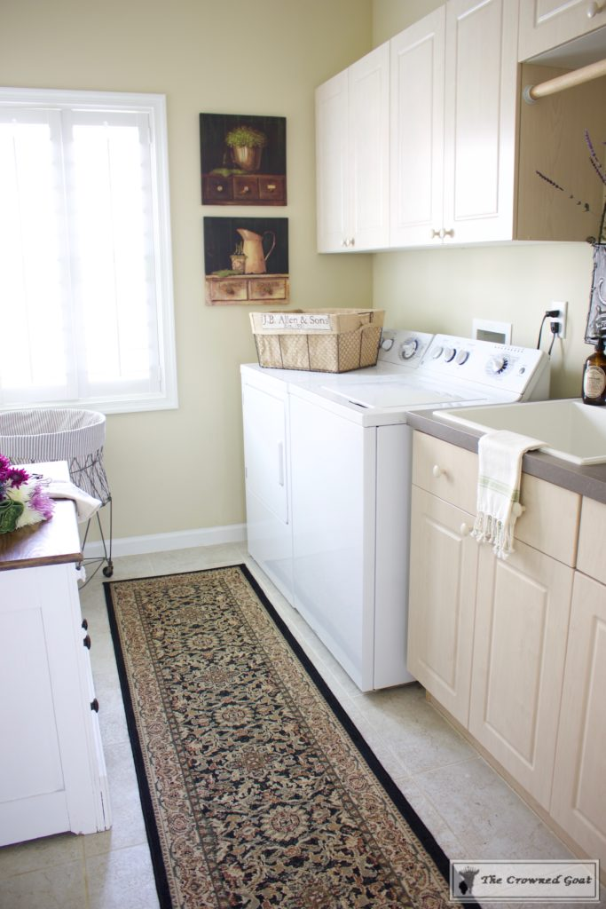 French-Country-Laundry-Room-Makeover-20-copy-683x1024 French Country Laundry Room Makeover Decorating DIY Painted Furniture