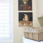 French Country Laundry Room Makeover