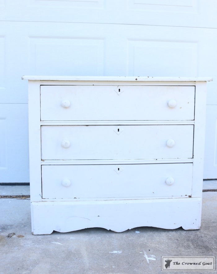 How-to-Create-a-Laundry-Room-Folding-Station-from-a-Dresser-The-Crowned-Goat-1 Creating a Laundry Room Folding Station from a Dresser DIY Painted Furniture