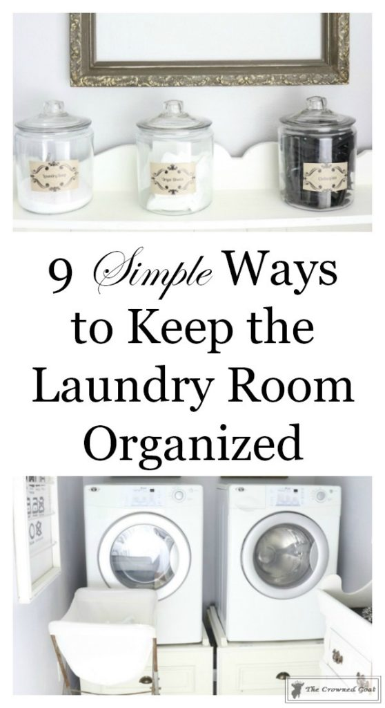Nine-Ways-to-Keep-the-Laundry-Room-Organized-1-558x1024 9 Ways to Keep the Laundry Room Clean and Organized Decorating DIY Organization