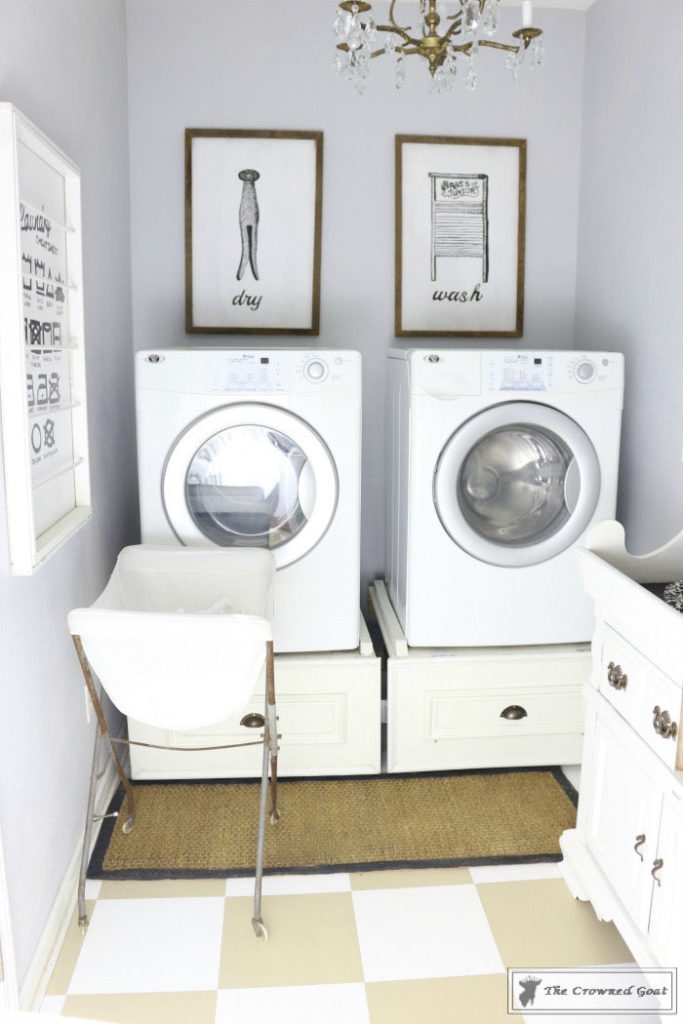 Nine-Ways-to-Keep-the-Laundry-Room-Organized-15-1-683x1024 9 Ways to Keep the Laundry Room Clean and Organized Decorating DIY Organization