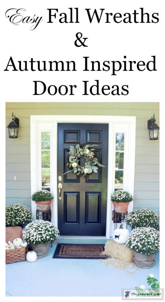 Easy-Fall-Door-Decor-Ideas-1-559x1024 Fall Wreaths & Autumn Inspired Door Décor DIY Fall Holidays