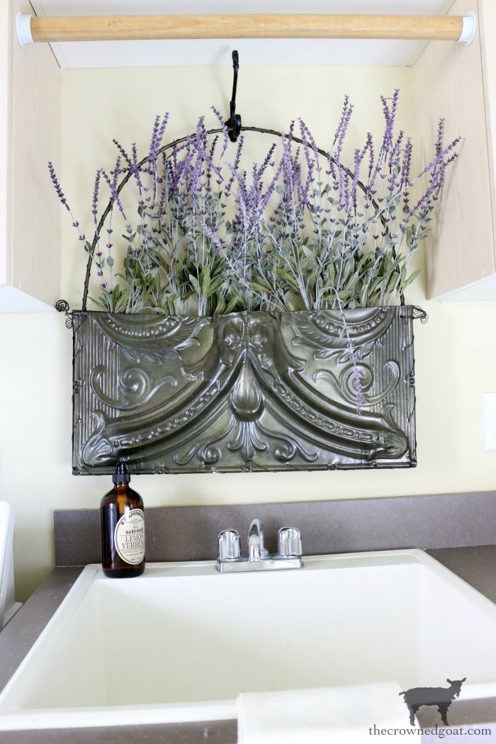French-Country-Laundry-Room-Makeover-13 French Country Laundry Room Makeover Decorating DIY Painted Furniture