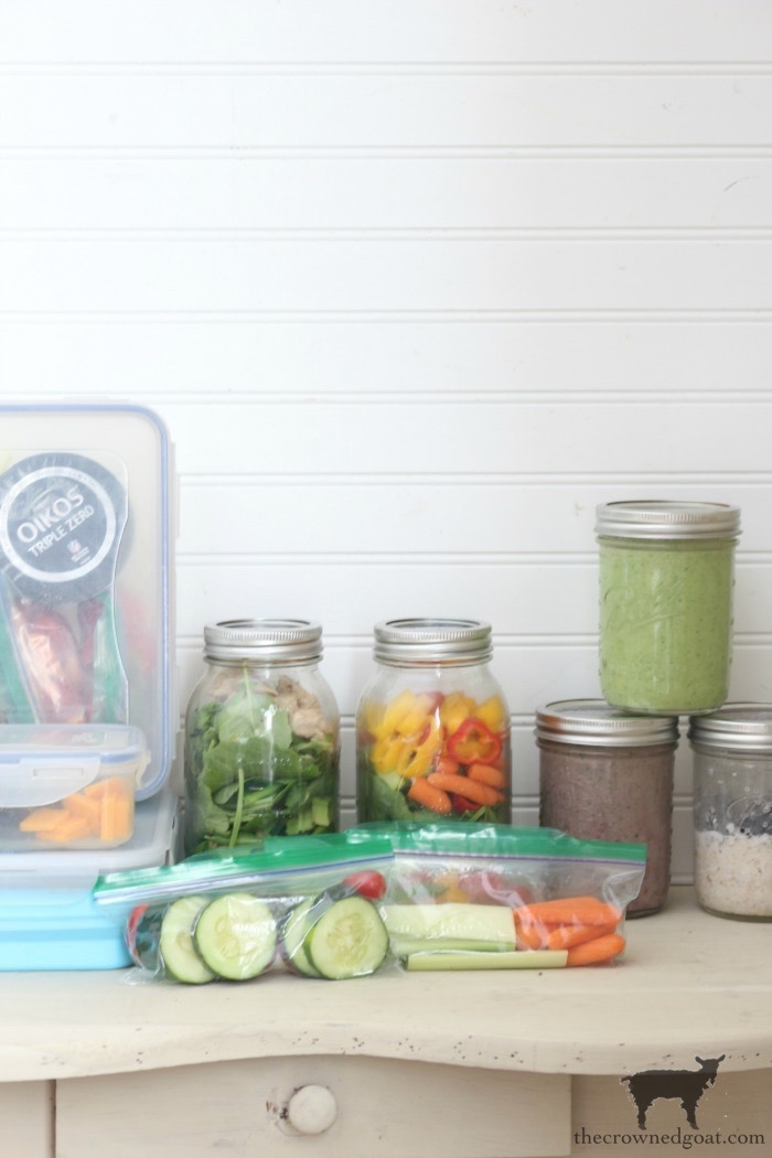 How-to-Make-a-Lunch-Station-at-Home-The-Crowned-Goat-20 How to Organize an Easy Lunch Station at Home Back to Basic DIY Organization