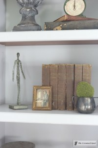 Painted Bookcases in GF Seagull Gray-The Crowned Goat-13