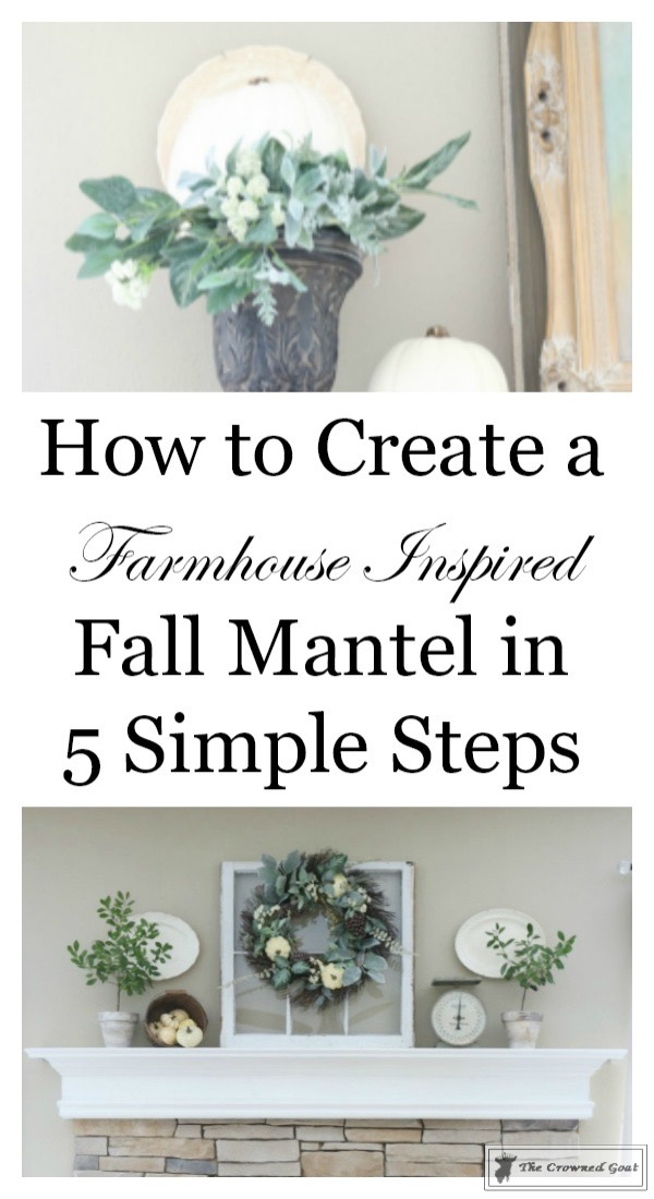 Easy-Fall-Mantel-Ideas-The-Crowned-Goat-1 5 Steps to Creating an Easy Fall Mantel Fall