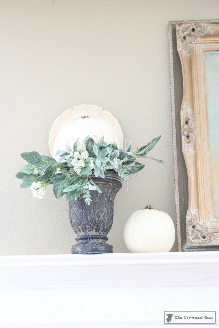 Easy-Fall-Mantel-Ideas-The-Crowned-Goat-4 5 Steps to Creating an Easy Fall Mantel Fall