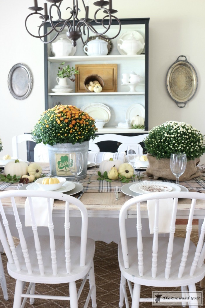 Fall Decorating Home Tour-The Crowned Goat-11