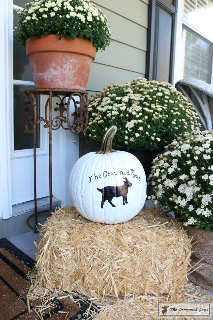 How-to-Customize-a-Painted-Pumpkin-6 From the Front Porch From the Front Porch