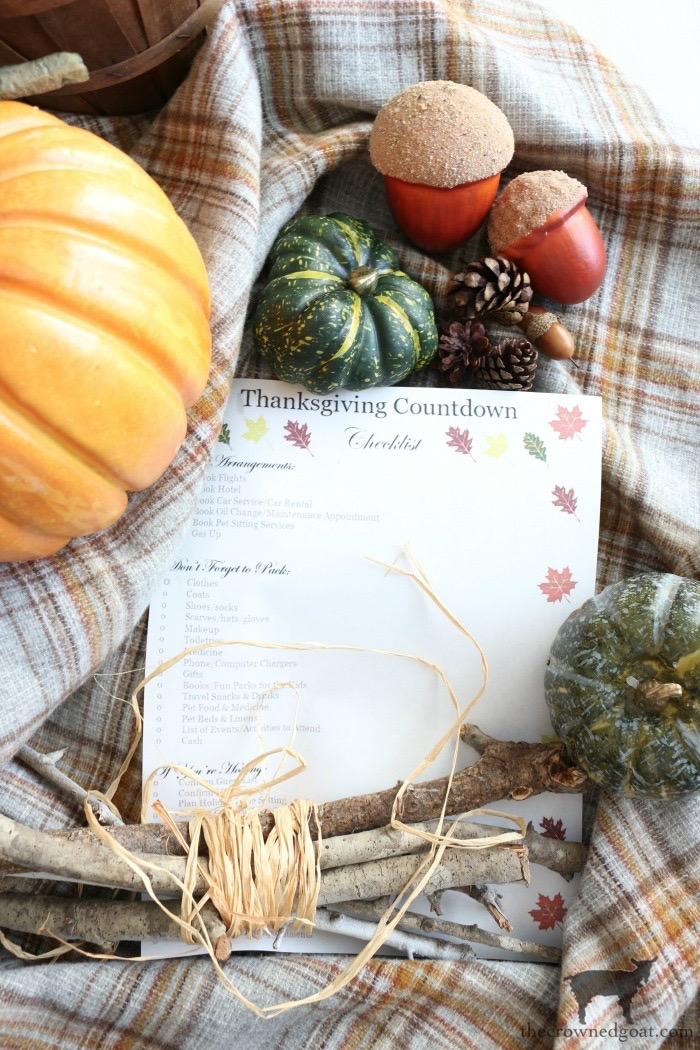 Thanksgiving-Countdown-Planning-Guide-The-Crowned-Goat-2-1 Easy Thanksgiving Planning Guide Fall Organization