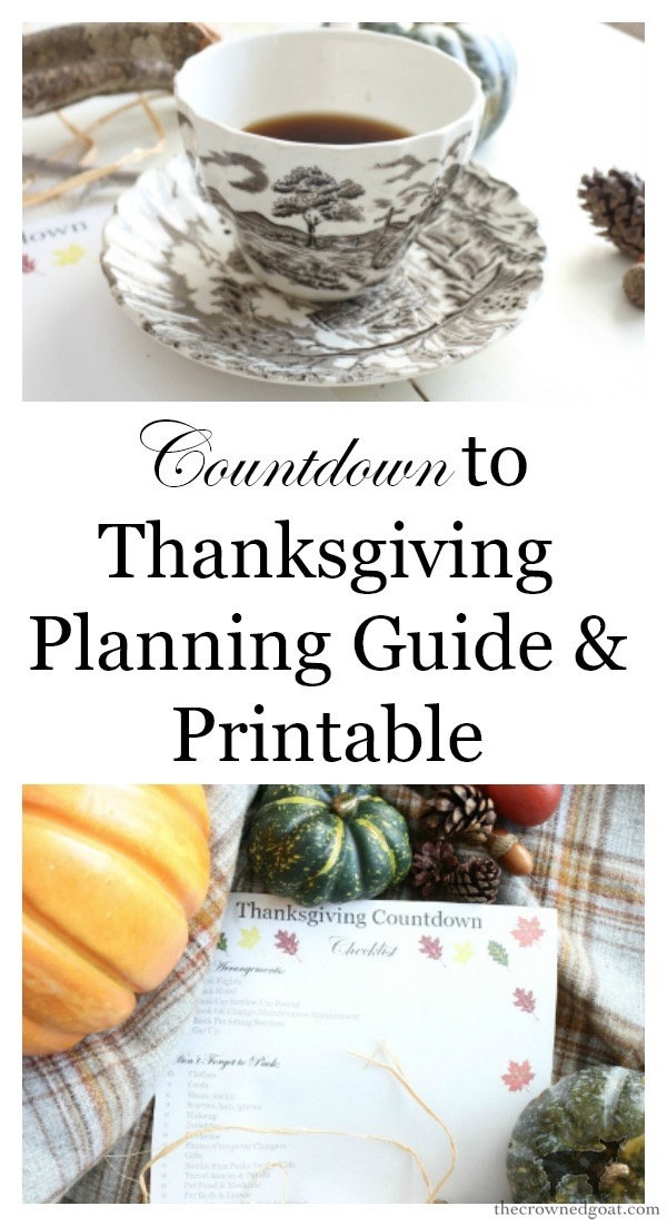 Thanksgiving-Countdown-Planning-Guide-The-Crowned-Goat-5-2 Easy Thanksgiving Planning Guide Fall Organization