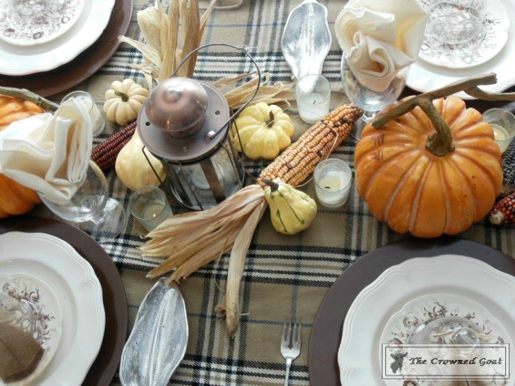 5-Easy-Thanksgiving-Tablescape-Tips-The-Crowned-Goat-18 5 Tips for an Easy Thanksgiving Tablescape Decorating Fall Holidays