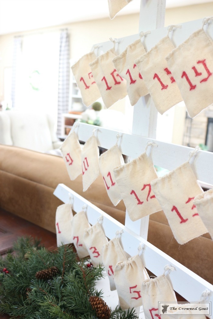 DIY-Farmhouse-Inspired-Advent-Calendar-The-Crowned-Goat-3 Farmhouse Inspired Advent Calendar Christmas