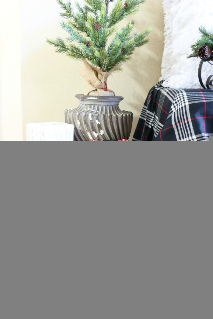 Simple-Tips-for-Christmas-Entry-Decorating-The-Crowned-Goat-7 Mad for Plaid Christmas Entry Christmas