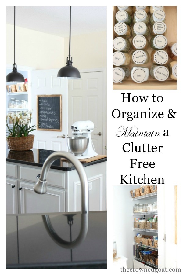 Organizing-and-Maintaining-a-Clutter-Free-Kitchen-The-Crowned-Goat-10 Organizing and Maintaining a Clutter Free Kitchen Organization