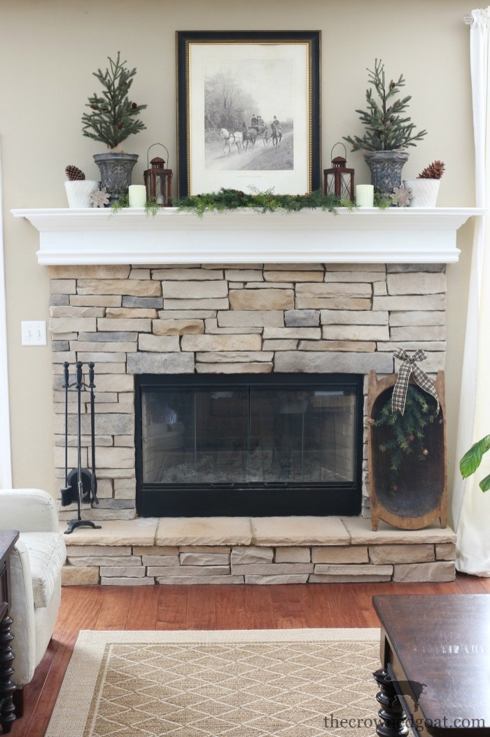 The-Easiest-Way-to-Style-a-Mantel-The-Crowned-Goat-9 The Easiest Way to Style a Mantel Back to Basic