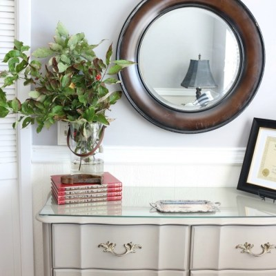 The Horse Farm Project: Painting Dressers & Nightstands