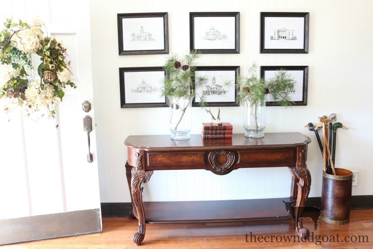 Traditional-Dining-Room-Makeover-The-Crowned-Goat-1 The Horse Farm Project: Dining Room Makeover Decorating