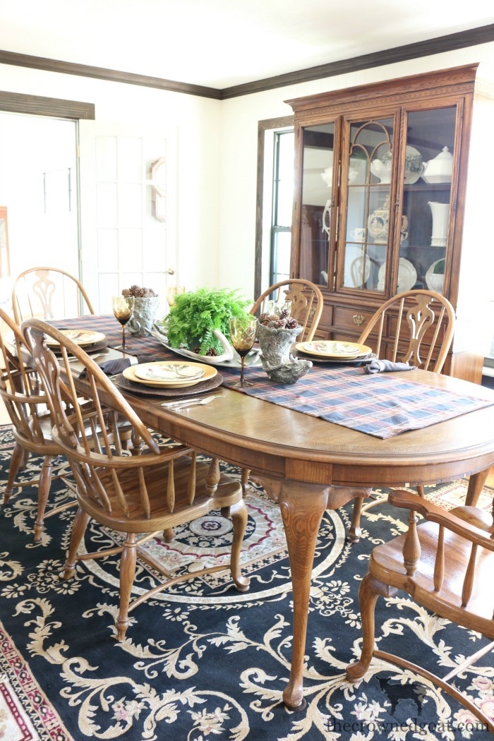 Traditional-Dining-Room-Makeover-The-Crowned-Goat-15 The Horse Farm Project: Dining Room Makeover Decorating