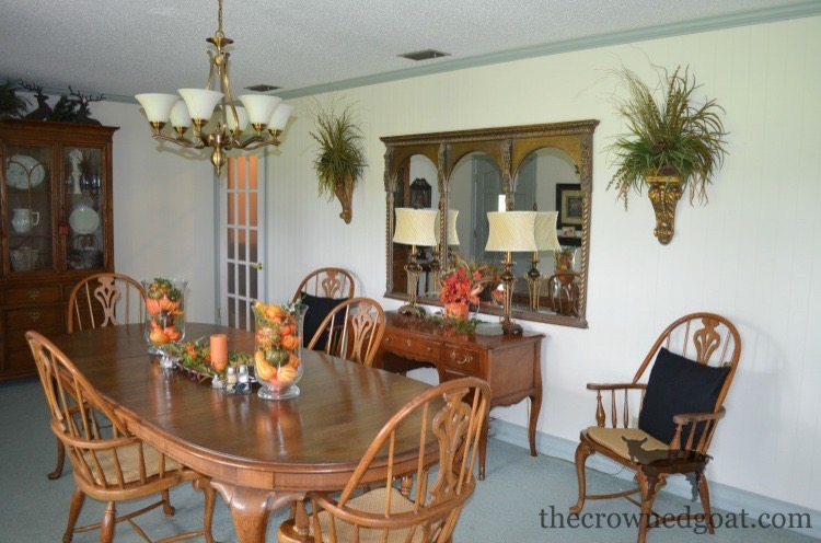 Traditional-Dining-Room-Makeover-The-Crowned-Goat-2 The Horse Farm Project: Dining Room Makeover Decorating