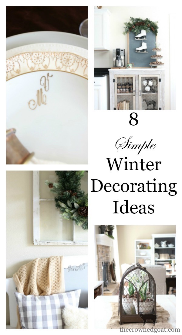 Winter-Decorating-Ideas-The-Crowned-Goat-3 8 Simple Winter Decorating Tips Decorating