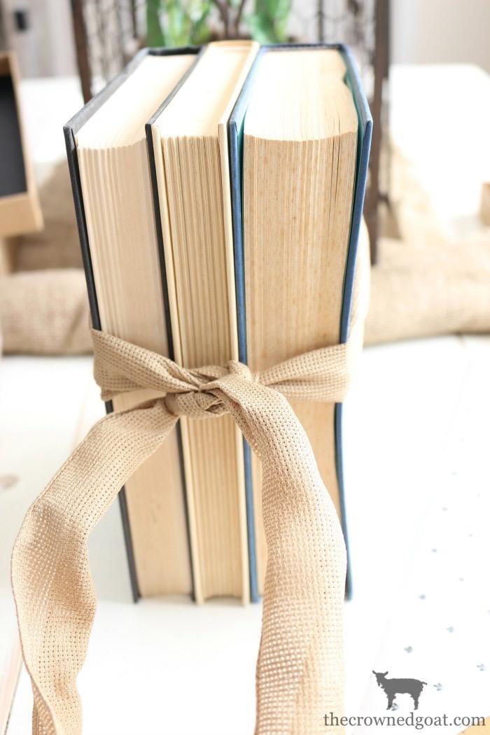 DIY-Stamped-Books-The-Crowned-Goat-4 DIY Stamped Books Crafts DIY