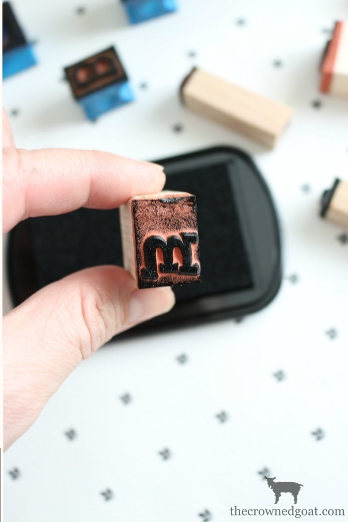 DIY-Stamped-Books-The-Crowned-Goat-7 DIY Stamped Books Crafts DIY