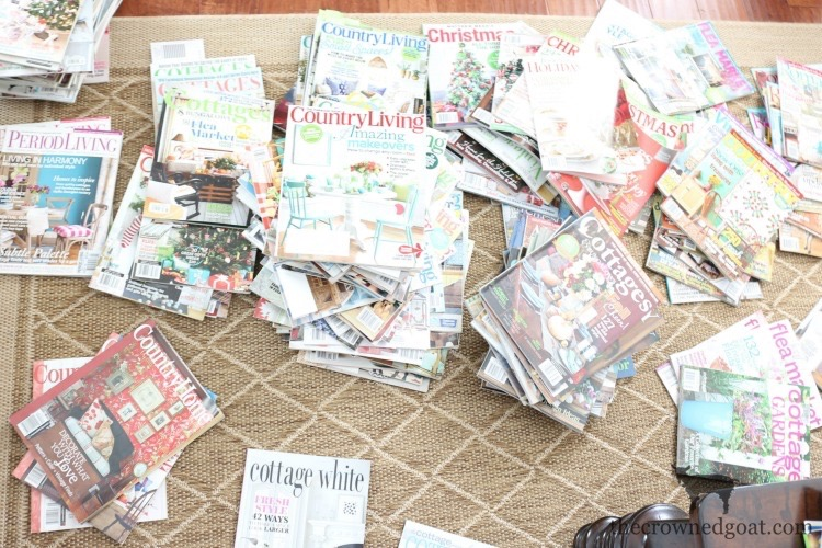 The-Best-Way-To-Organize-Magazines-At-Home-The-Crowned-Goat-5 The Best Way to Organize Magazines Organization