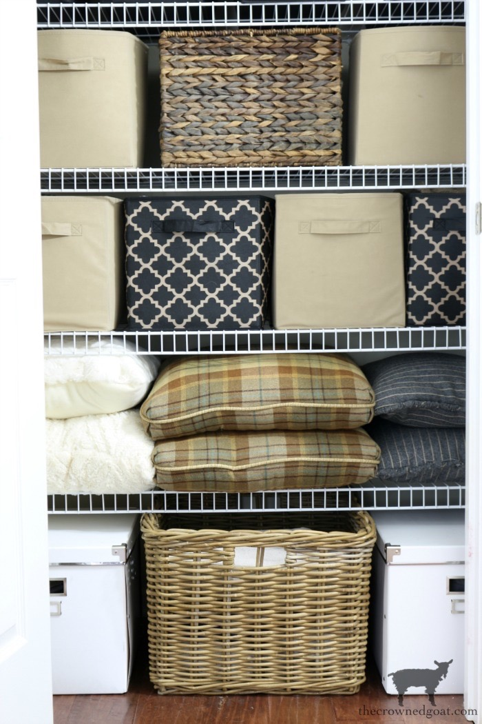Tips-and-Tricks-for-Clutter-Free-Linen-Closets-The-Crowned-Goat-3 18 Quick & Easy Spring DIY Projects Spring