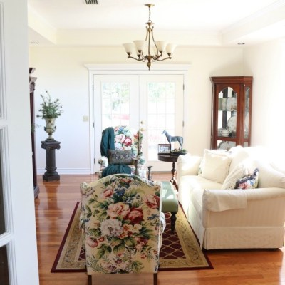 The Horse Farm Project: Formal Living Room Transformation